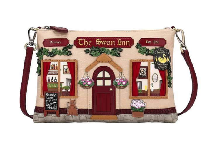 BORSA POCHETTE THE SWAN INN PUB ART.50432111