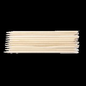 Bastoncini spingi pelli in legno 10pz