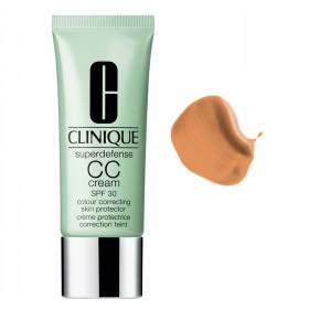 CC CREAM CREMA CORREZIONE DEL COLORITO  Clinique Superdefense CC Cream n. 03 light medium