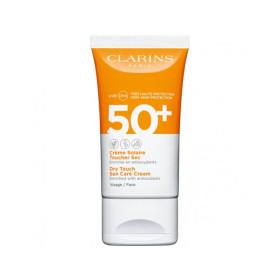 crème toucher sec solaire crema solare viso 50+ 50 ml