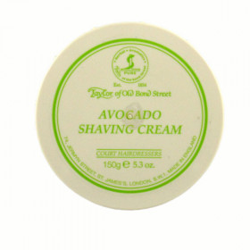 SHAVING CREAM BOWL - CREMA DA BARBA PROFUMATA ALL' AVOCADO 150GR