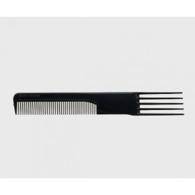 PETTINE FITTO CON FORCHETTA NERO  135_N_SC